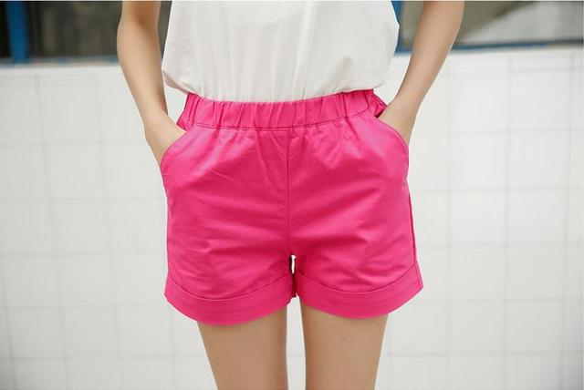 Female Summer Plus Size Attachment Summer New Female Shorts Shorts Female Leisure Cotton Shorts Size Female Straight Shorts