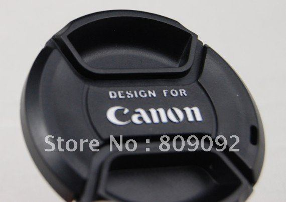72mm Universal Front Lens Cap Cover with Strap for Canon