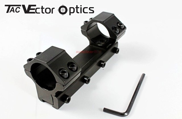 Free Shipping 1 inch Rifle Scope One Piece Low Dovetail Mount Ring Fit Airgun Winchester RifleScope
