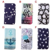 Painted Flip Wallet PU Leather Bracket Case For Samsung Galaxy SIII S3 i9300