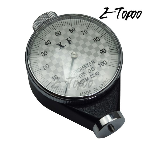 Shore OO DO 00  hardness tester rubber hardness tester to measure special soft rubber