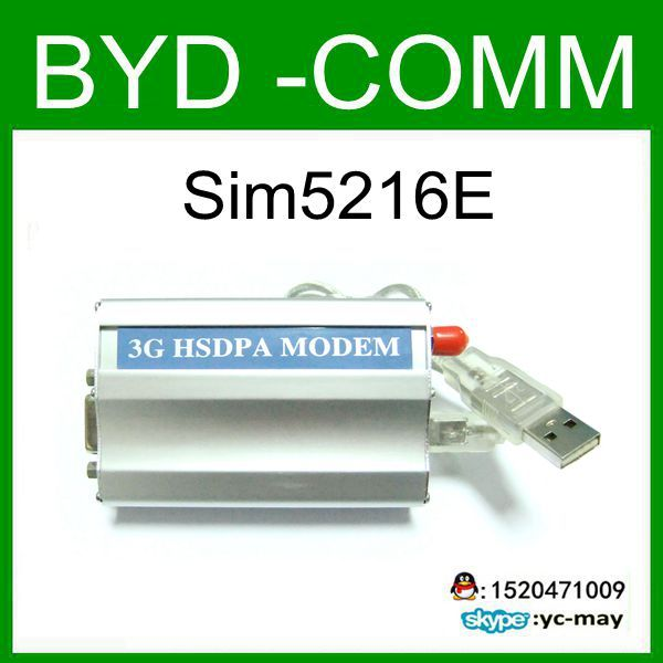 factory wholesale simcom sim5216 MODEM for RS232 WCDMA GPS MODEM