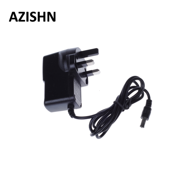 AZISHN AC 100-240V DC 12V 1A UK Plug AC/DC Power adapter charger Power Adapter for UK security CCTV Camera (2.1mm * 5.5mm)