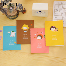"""1pcs  """"Hello jane"""" Portable Mini notebook diary cash book notepad kawaii stationery school supplies gift for kids papelaria"""