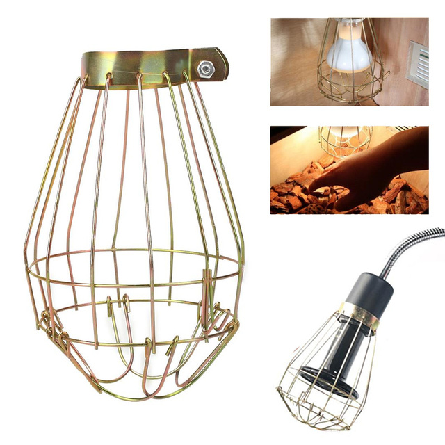 Lamp Cover Lamp Shade Lighting Parts Copper Anti-Scald Home Household Explosion-Proof Removable 10 * 14cm Reptile Supply