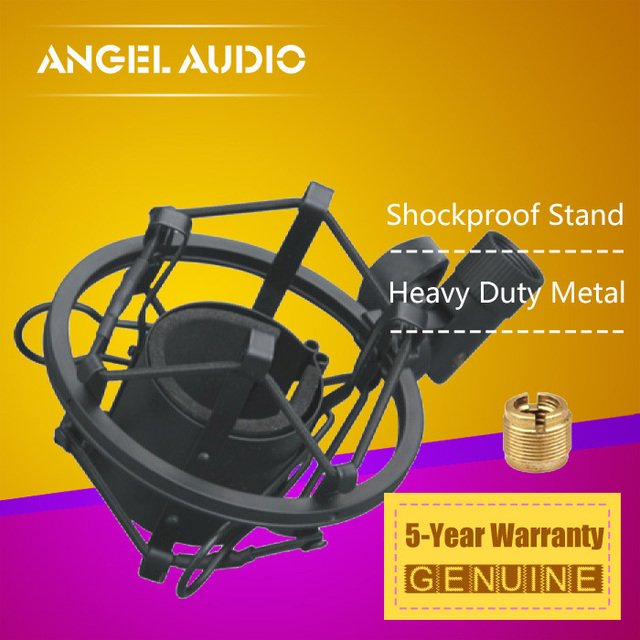 High Quality Recording Microphone Shock Mount Suspension Spider Holder Clip Clamp Mike Stand For Neumann U 87 67 TLM 67 193 102