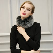 Multi-colors Autumn Winter Scarfs Women Faux Fur Scarves Rabbit Scarf With Ball Pele Scarves Cachecol Bufandas Mujer LM93