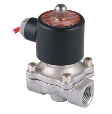 """Free Shipping 5PCS Solenoid 1/2"""" SS Solenoid Valve STAINLESS / VITON DC24V"""