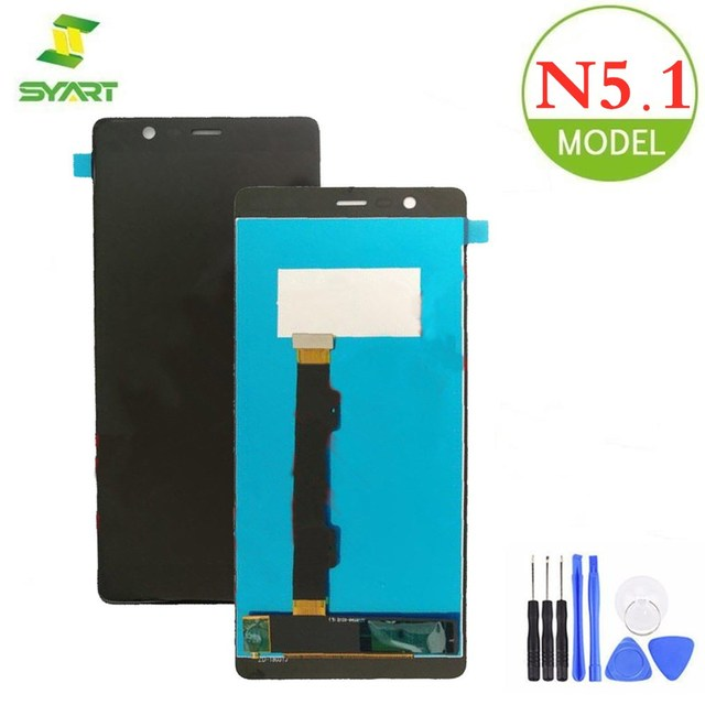"""For Nokia 5.1 LCD Display Touch Screen Digitizer Assembly Repair Replacement For Nokia 5 2018 TA-1061 TA-1075 5.5"""" LCDs Screen"""