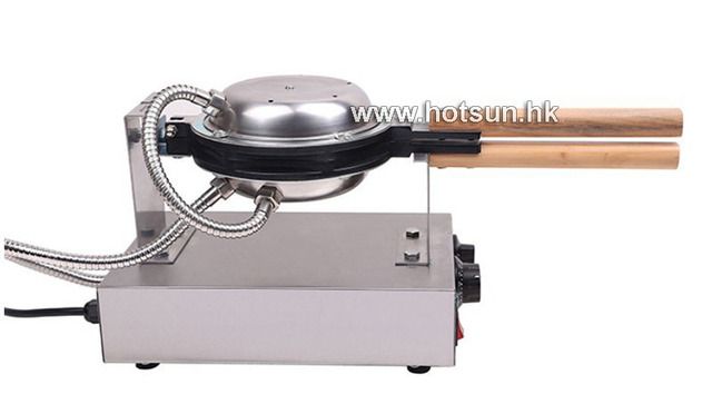 Free Shipping Commercial 110V 220V Electric Nonstick Rotated Eggettes Egg Puff Bubble Waffle Egg waffle Maker Iron Machine