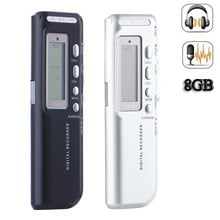 Portable 8G USB Digital Audio Voice Recorder Long working time Recorder high definition Mini MP3 Voice Recording pen
