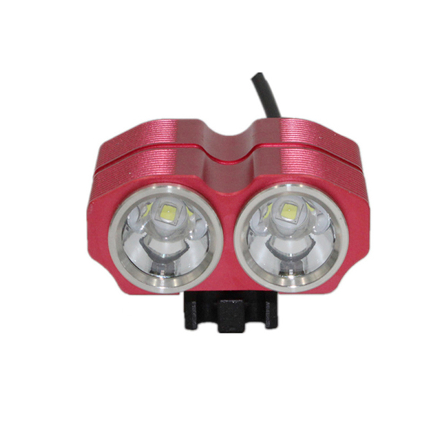 Bicycle Flashlight 2400LM 2x XM-L2 LED Ultra Fire Front Bicycle Light DC 4 Modes head Light Bike Lamp Back Tail Light