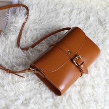 Women Shoulder Bags Fashion Cow Leather Messenger Bags Ladies Genuine Leather Handbags Purse High Quality Oil Wax Of Cowhide Bag