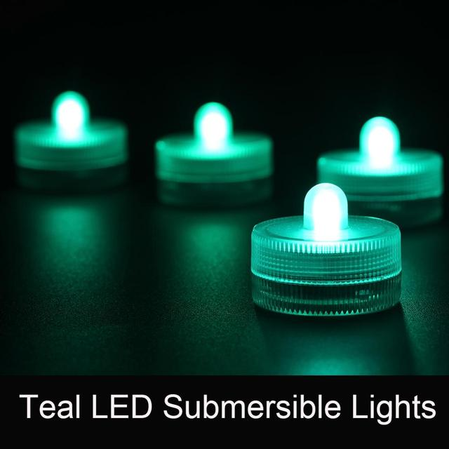 Free shipping Amber color Submersible battery led FLoralyte~Submersible led lights-underwater led centerpieces deco