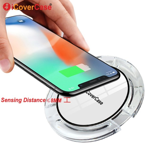 Wireless Charger for Samsung Galaxy J2 Pro 2018 Charging Pad USB QI Receiver for Samsung J2pro 2018 Charger Case Phone Accessory