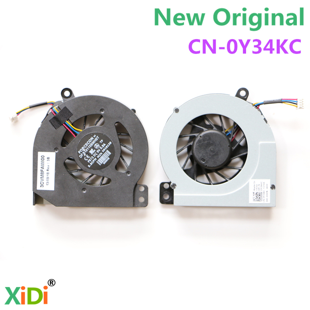 NEW CPU COOLING FAN FOR DELL Vostro 1014 1015 1088 CPU COOLING FAN DFS491105MH0T F972 CN-0Y34KC