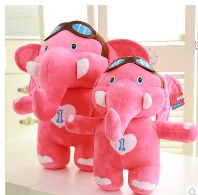 2015 new arrival  30cm.40cm.55cm plush toys Christmas gift stuffed soft toys elephant factory supply freeshipping