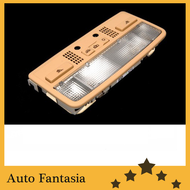 High Qualit y W8 Dome Light Assembly (Beige Sunroof Version)  for Volkswagen Golf MK4-Free Shipping