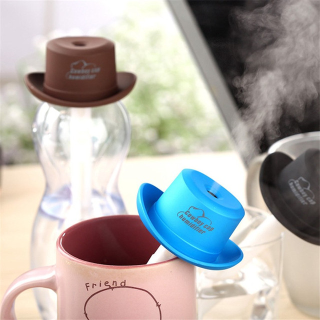 5V DIY Water Bottle Car Steam Humidifier USB Air Purifier Aroma Aromatherapy Essential Oil Diffuser Mist Maker Mini Fogger