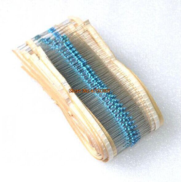 2500pcs 50 Value 1/4W Carbon Film Resistors (1R~10MR)  5% &    12.08USD/lot !!