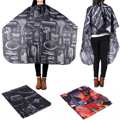 Fashion Hairdressing Hairdresser Gown Cape Salon Hair Cutting Barber Adult Cloth