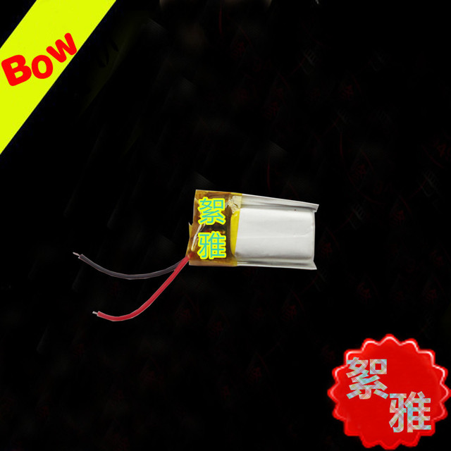 Bluetooth headset universal battery MP3 small equipment 3.7V 401121 polymer lithium battery 3D glasses Rechargeable Li-ion Cell