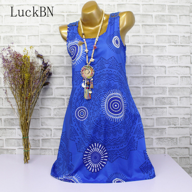 5XL Plus Size Women Summer Dress Vintage Print Sundress Sexy Backless Hollow Out Lace Patchwork Dress Large Sizes Sleeveless 4XL