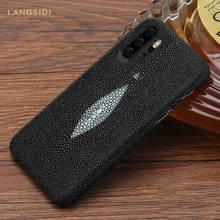 Python Leather Phone Case for Huawei Mate 20 Pro Mate 40 P30 lite P20 P40 Pro Snake Skin Cover For honor 20 Pro 10 8A 10i