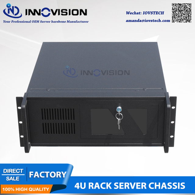 Stable 4Urack mount chassis RC450 IPC Case 1.2-2.0mmSGCC Material