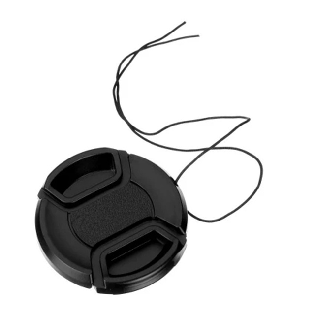 TiYiViRi 49 52 55 58 62 67 72 77 82mm Lens Cap Abs Dust-Proof Camera Lens Protector Cover For Sony Dslr Lens Protector Lens Cap