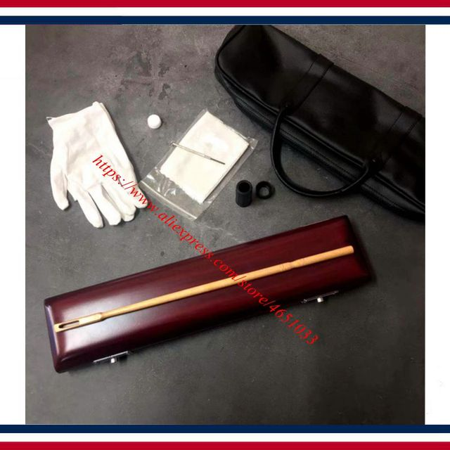 Flute case  -  Flute accessories   -   Flute box of high-grade solid wood and high-grade soft package  -  Flute bags
