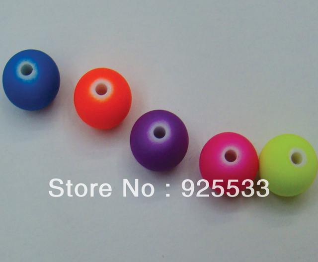 free shipping 1750pcs/lot 8mm small new fashion colorful acrylic jewelry loose beads for bracelet and necklace DIY