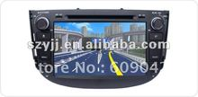 HD ouch screen car audio dvd player with radio tv and gps navigation special for LIFAN X60