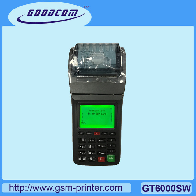 13% OFF Leading Manufacturer Handheld Ticket Printer GPRS and WIFI Supported For Online Restauarant, Pizza Shop, Grocery store
