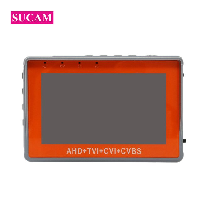 SUCAM 4 IN 1 1080P CCTV Tester 4.3 Inch Mini Small Size Monitor for Testing High Definition AHD CVI TVI Analog CVBS Camera