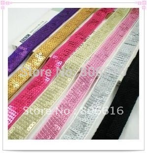 20MM 20Yard Spangle Sequins Paillette Strings Line Cord Belt Garment / Jewelry Accessories