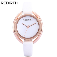 REBIRTH Fashion Casual Quartz Watch Women Watches Ladies Female Clock Wrist Watch Famous Brand Montre Femme Relogio Feminino