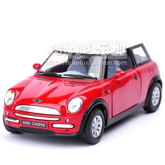 High Simulation Exquisite Model Toys: KiNSMART Car Styling MINI COOPER Model Decoration 1:28 Alloy Car Model Excellent Gift