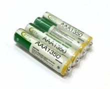 4 x BTY Rechargeable Battery High Quanlity 4 x BTY 1.2V 1350mAh AAA Ni-MH Rechargeable Battery accumulator