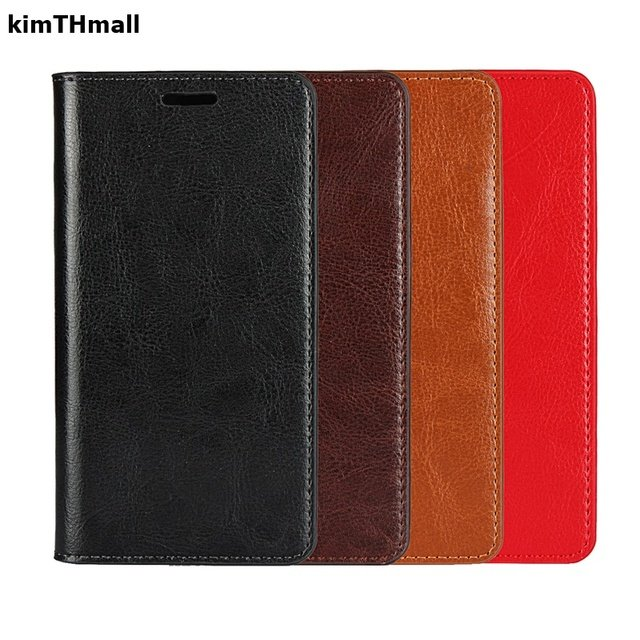 "Case For Asus Zenfone 2 Laser ZE601KL Flip Cover 6.0""case High quality Genuine Leather Wallet Bags Bags Soft case kimTHmall"