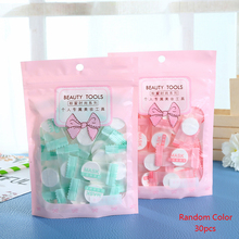 TOP 30PCS/Set Facial Cotton Compressed Masque Disposable Wrapped Masks Sheets Tablets for DIY Skin Care