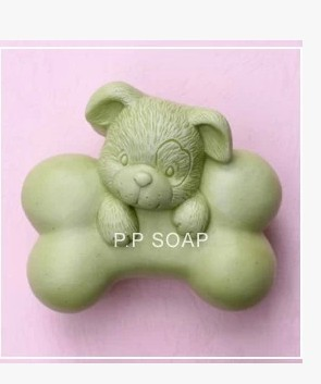 CCute Dream dog For Bone S0075 Craft Art Silicone Soap mold Craft Molds DIY Handmade soap molds