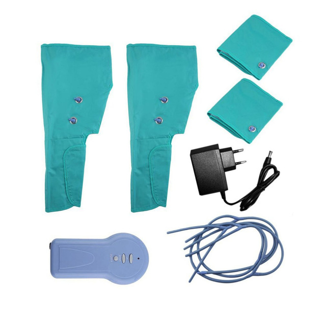Air Compression Leg Wraps Electric Foot Calf Ankles Circulation Therapy Massage Health Care Portable Leg Massager Drop Shipping