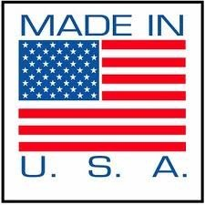 10000 pcs/lot 25x25mm MADE IN U.S.A self adhesive paper label sticker for products, Item No.SL10