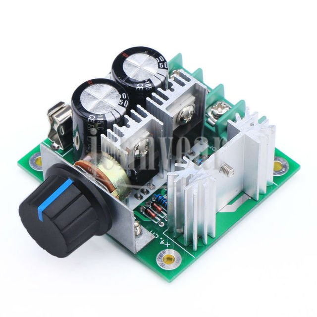 PWM Pulse Width Modulation Controller DC12V~40V Speed Governor for Motor Speed Control Thermostat Dimmer Temp Control etc