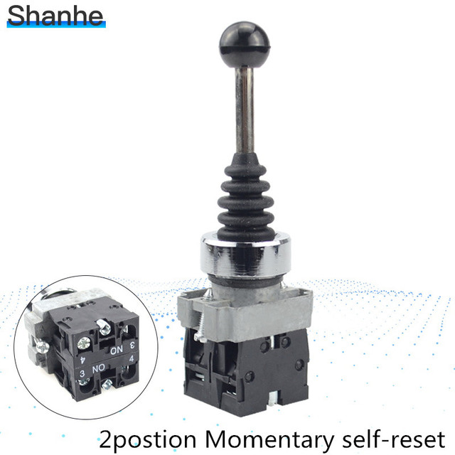 XD2-PA22 joystick controller XD2PA22CR,spring return  joystick switch XD2-PA22CR