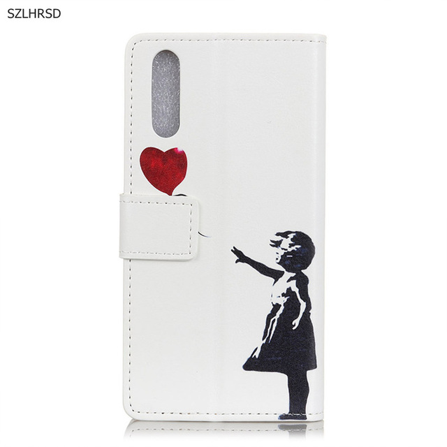 Newest Flip cover For huawei p20 pro Case Eiffel Tower PU Leather wallet case For Huawei p20pro mobile Phone cases bags