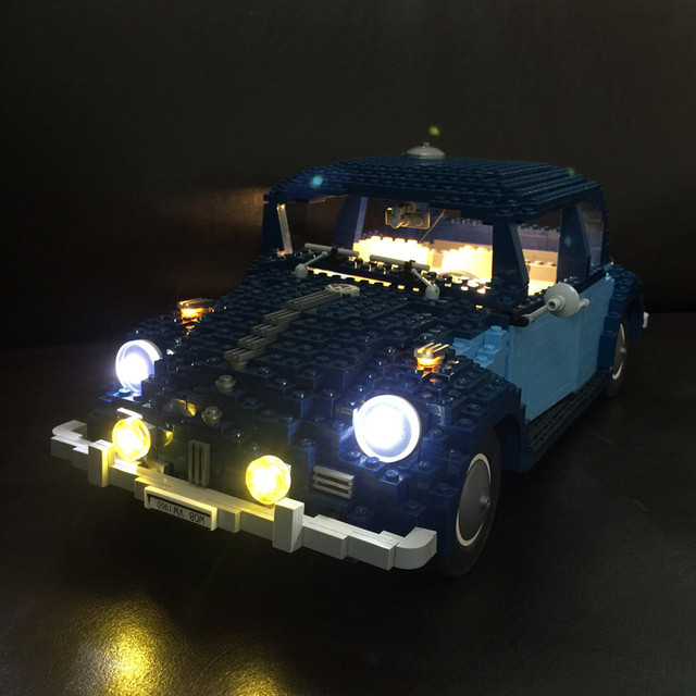 LED light up kit for lego 10187 and 21014 Creator series The Ultimate Beetle model (car Blocks  Set not included)