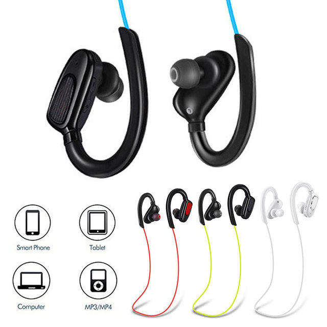 Durable Hands-Free Headphones Smartphone 2.4GHz Wireless Earbuds Sports Fashion Bluetooth V4.1 Headset Music for Samsung