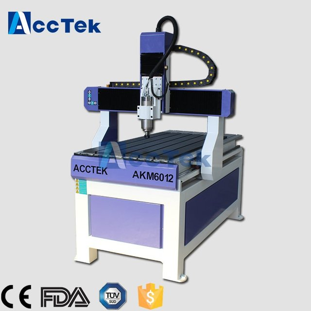 PCB cutter perfume bottle machine T-slot table china cnc router